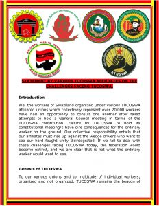 VARIOUS TUCOSWA AFFILIATES STATEMENT 29-11-2020 12-1