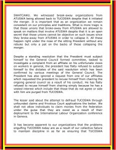 VARIOUS TUCOSWA AFFILIATES STATEMENT 29-11-2020 12-5